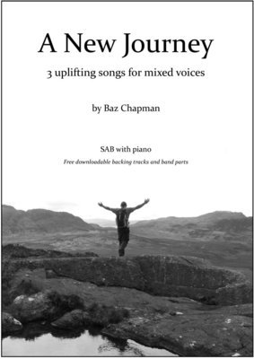A New Journey - piano vocal score