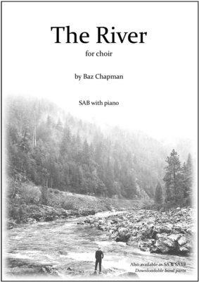 The River - SAB piano vocal score