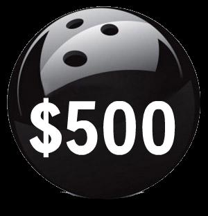 $500 Bowling Event Sponsorship