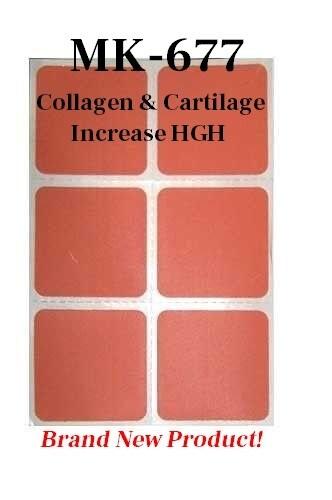 MK-677 Collagen Restoration Patch – Cartilage - Tendon Strengthening & Repair & Elevates HGH Levels
