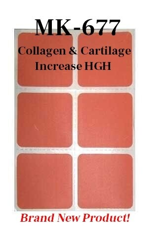 (AUTO-SHIP) MK-667 Collagen Restoration Patch - Cartilage - Tendon Strengthening & Repair and Elevates HGH Levels