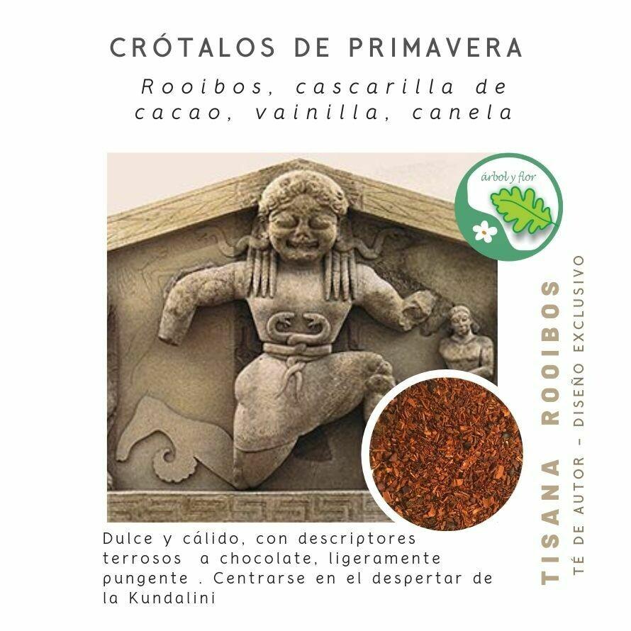Crotalos de Primavera - Tisana de Rooibos y cacao