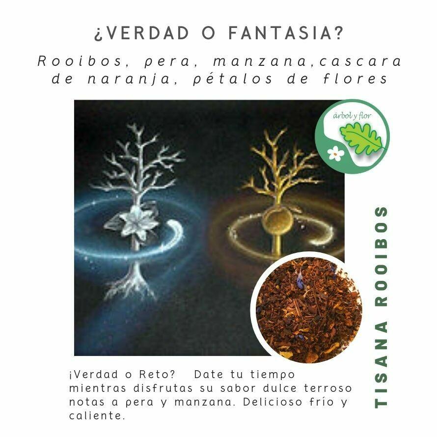 ¿Verdad o Fantasia? - Tisana de Rooibos
