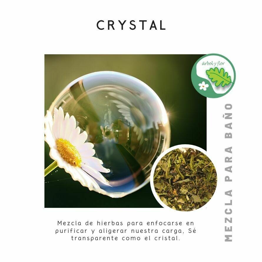 Mezcla para baño - Crystal