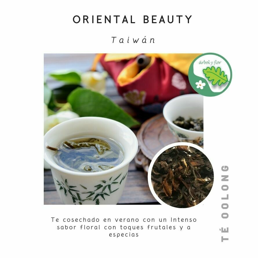Té Oolong Oriental Beauty - Premium