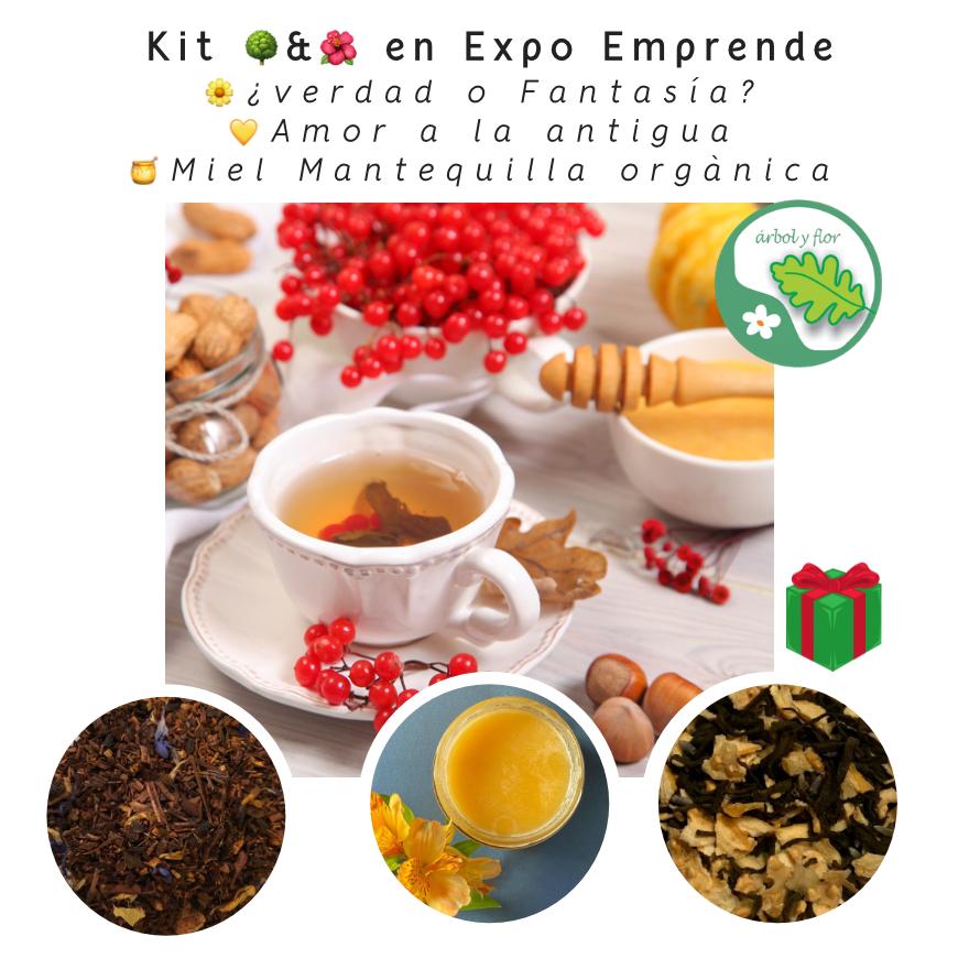 Kit Arbol y Flor en Expo Emprende