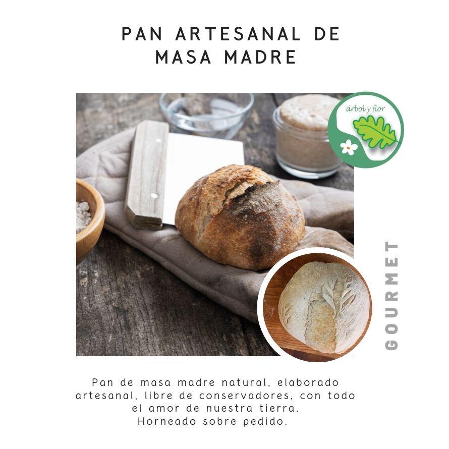 Pan artesanal de Masa Madre