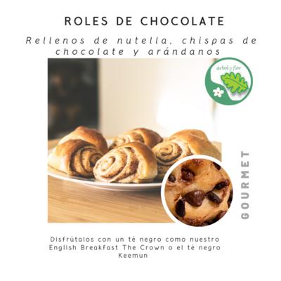 Roles de Chocolate