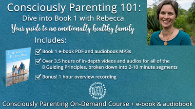 Consciously Parenting 101: What it Really Takes to Raise Emotionally Healthy Families (pay what you can)