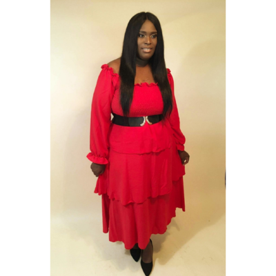 RED RIDING HOOD MAXI
