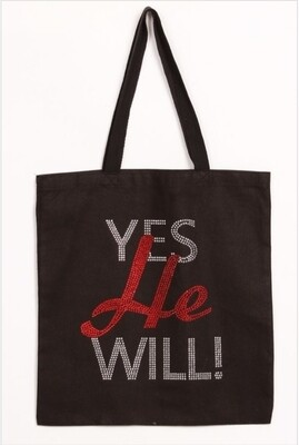 YES HE WILL BAG