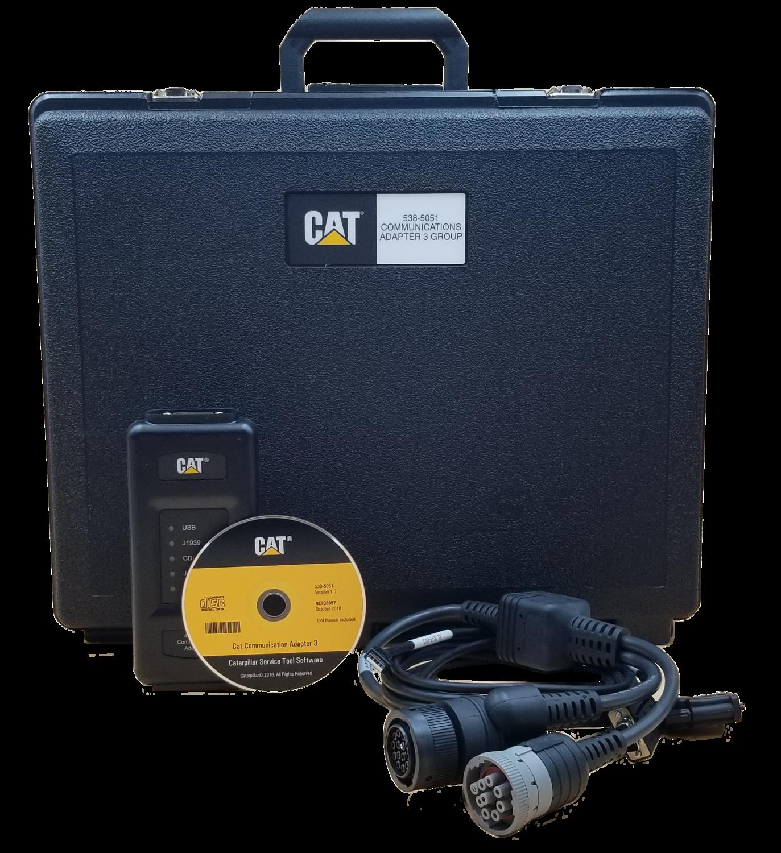 NEW OEM 538-5051 CAT Comm Adapter III Caterpillar Replaces 466-6258 & 317-7484