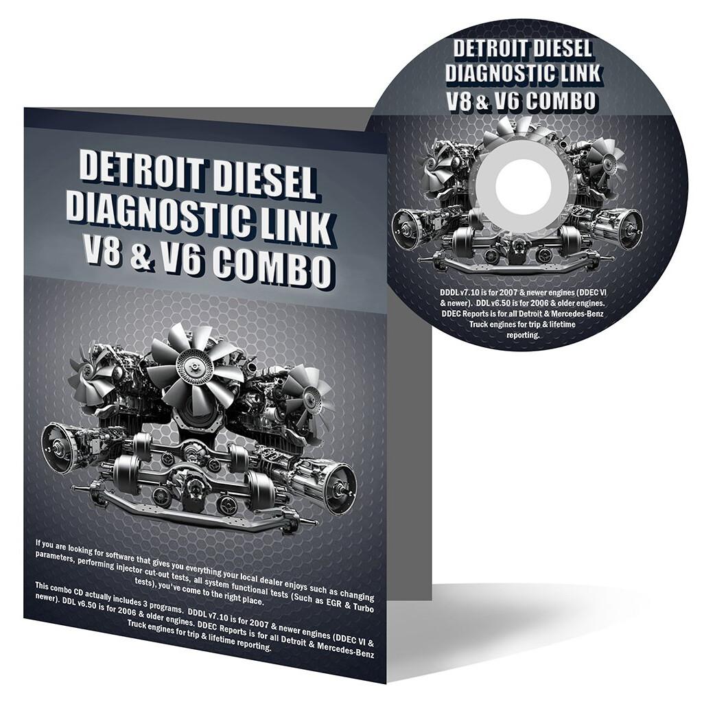 Detroit Diesel Diagnostic Link v8 & v6 Combo Professional License - 12 Month License