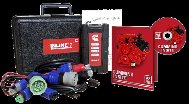 Cummins Insite Engine Diagnostic Software Pro with Cummins Inline 7