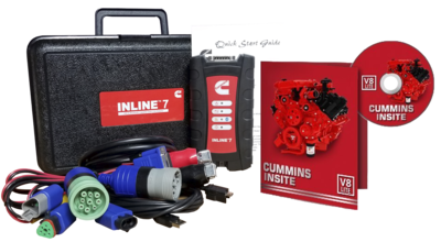 Cummins Insite Engine Diagnostic Software Pro with Cummins Inline 7