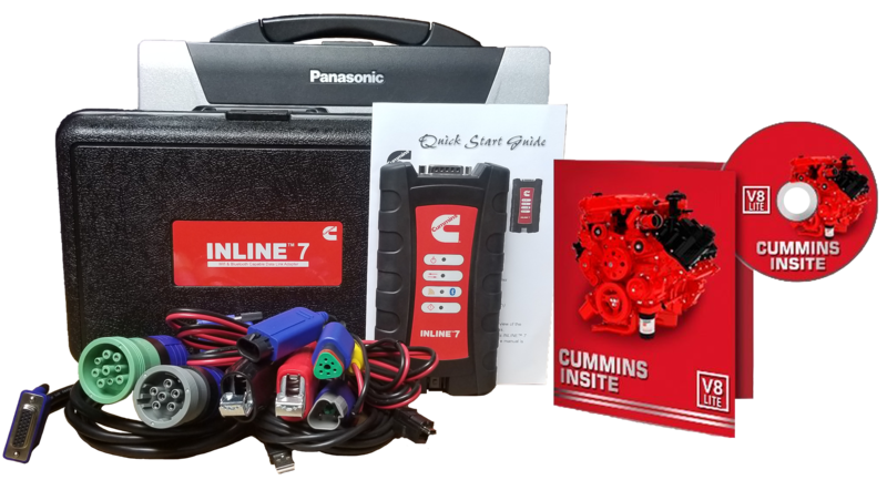 Cummins Insite Engine Diagnostic Software Pro with Inline 7 Panasonic Toughbook Dealer Package