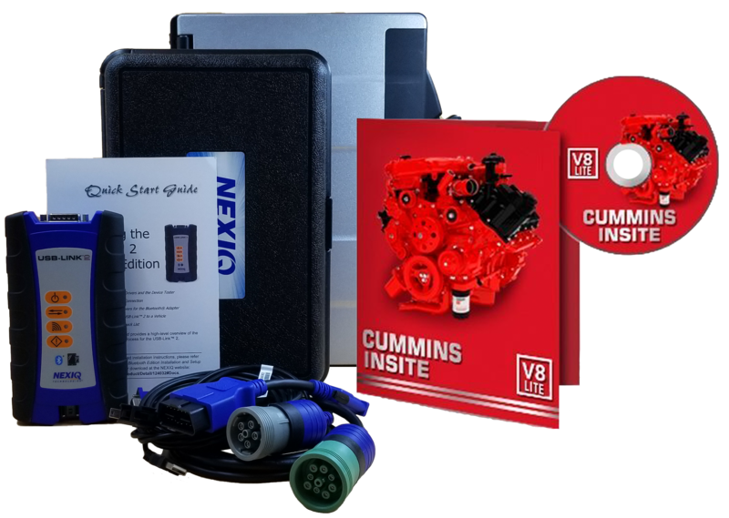 Cummins Insite Engine Diagnostic Software Pro with NexIQ Panasonic Toughbook Dealer Package