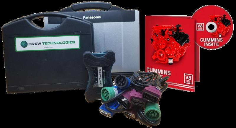 Cummins Insite Engine Diagnostic Software Lite with Drewlinq Panasonic Toughbook Dealer Package
