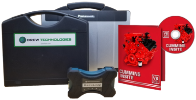 Cummins Insite Engine Diagnostic Software Pro with Drewlinq Panasonic Toughbook Dealer Package