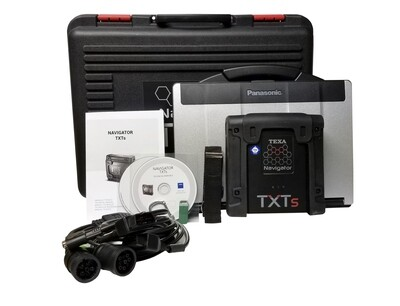Texa Heavy Truck Scanner Dealer Level Diagnostic Package with Laptop