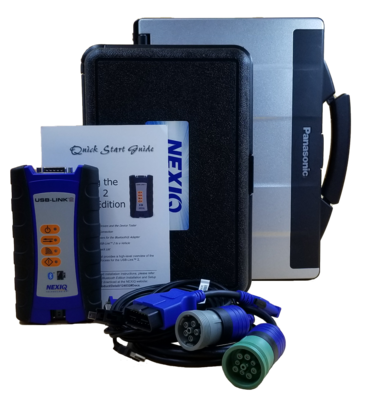Nexiq 124032 USB Link 2 Toughbook Package