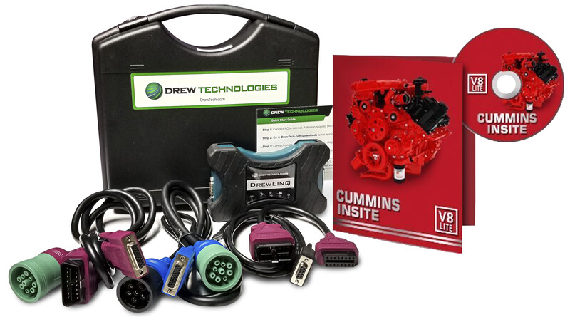 Cummins Insite Engine Diagnostic Software Pro with DrewLinQ