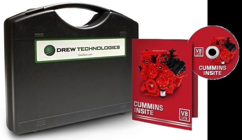 Cummins Insite Engine Diagnostic Software Lite with DrewLinQ