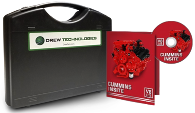 Cummins Insite Engine Diagnostic Software Lite with DrewLinQ