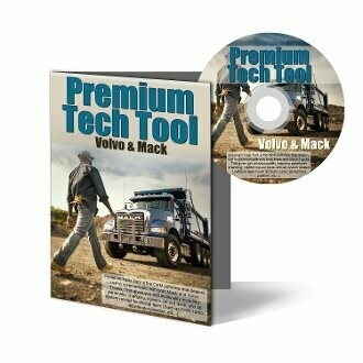 Premium Tech Tool Diagnostic Software DVD – Mack and Volvo (including specific ECU programming)