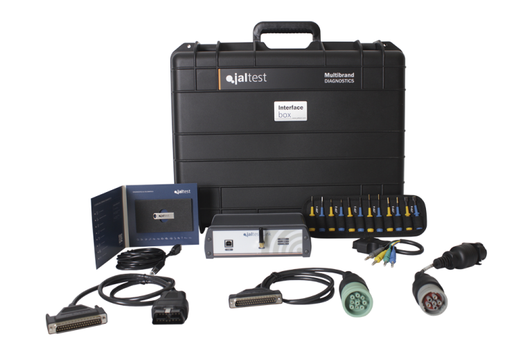 Jaltest Heavy and Medium Truck Diagnostic Diesel Laptops Tool
