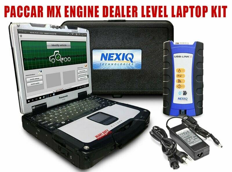 Paccar Davie4 MX Dealer Diagnostic Package