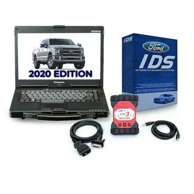 Ford IDS Software, Full Annual Subscription with VCM 3 Ford Tool with Toughbook Dealer Package