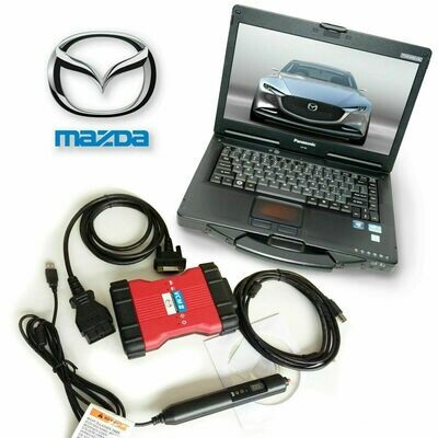 Mazda VCM 2 IDS Toughbook Dealer Kit with Mazda VCM Software License F00K-10-8820A