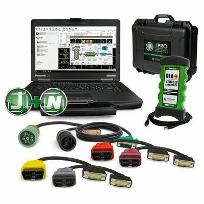 JPRO Professional with Fault Guidance & NextStep Repair Software Toughbook Kit