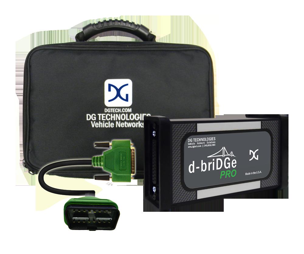 d-Bridge Pro Adapter J2534 compliant