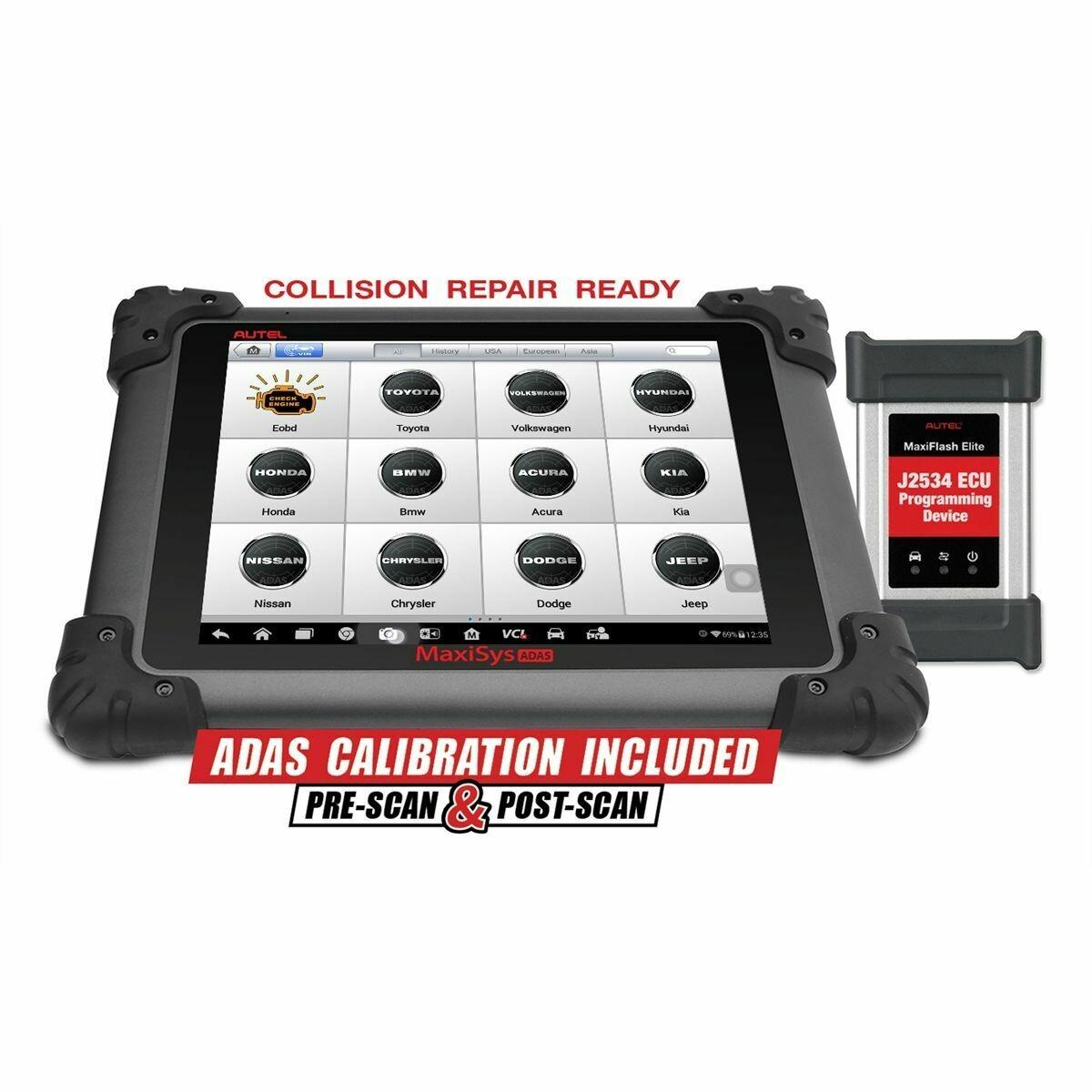 AUTEL MaxiSYS ADAS Calibration Tablet