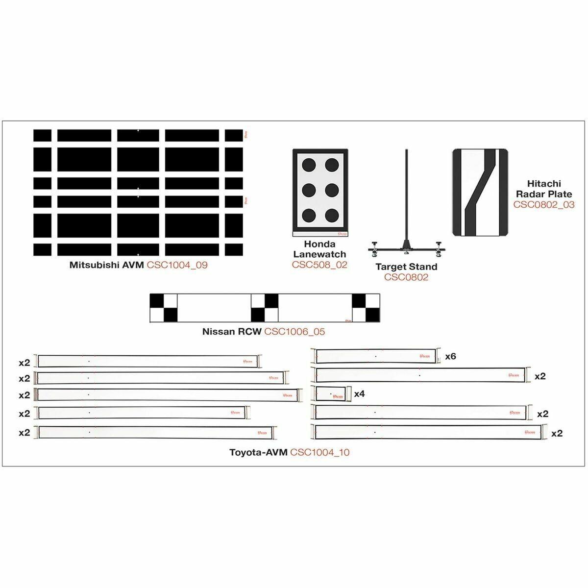 AUTEL ADAS Calibration Expansion Package 2