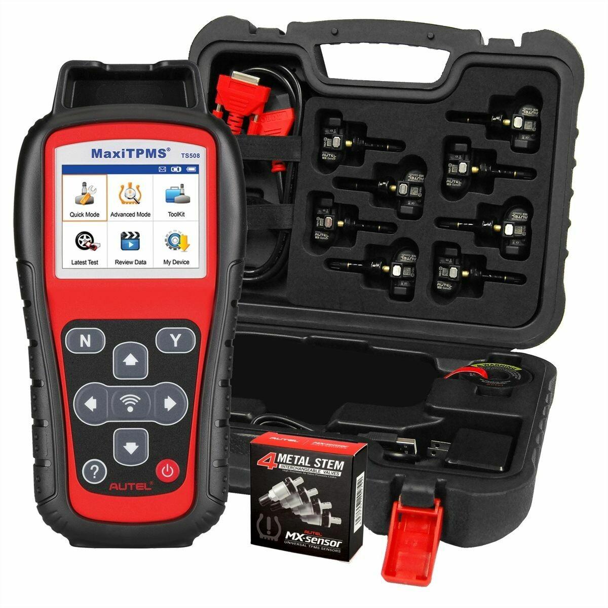 AUTEL MaxiTPMS TS508KMV-1 Kit with Tool, 1-Sensors, MVK