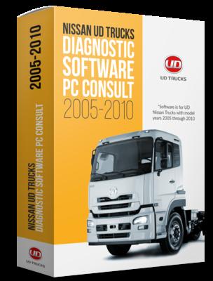 Nissan UD 2005-2010 Vocom II Toughbook Dealer Package