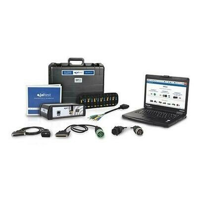 Jaltest Commercial Truck, Off Highway & Agricultural diagnostic Toughbook Package Includes Jaltest Online Info OHW & AGV cable kits.