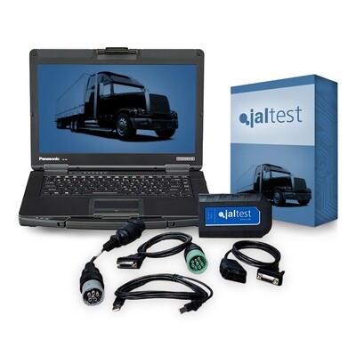 Universal Diesel Jaltest Heavy Truck  Diagnostic Toughbook Laptop Kit