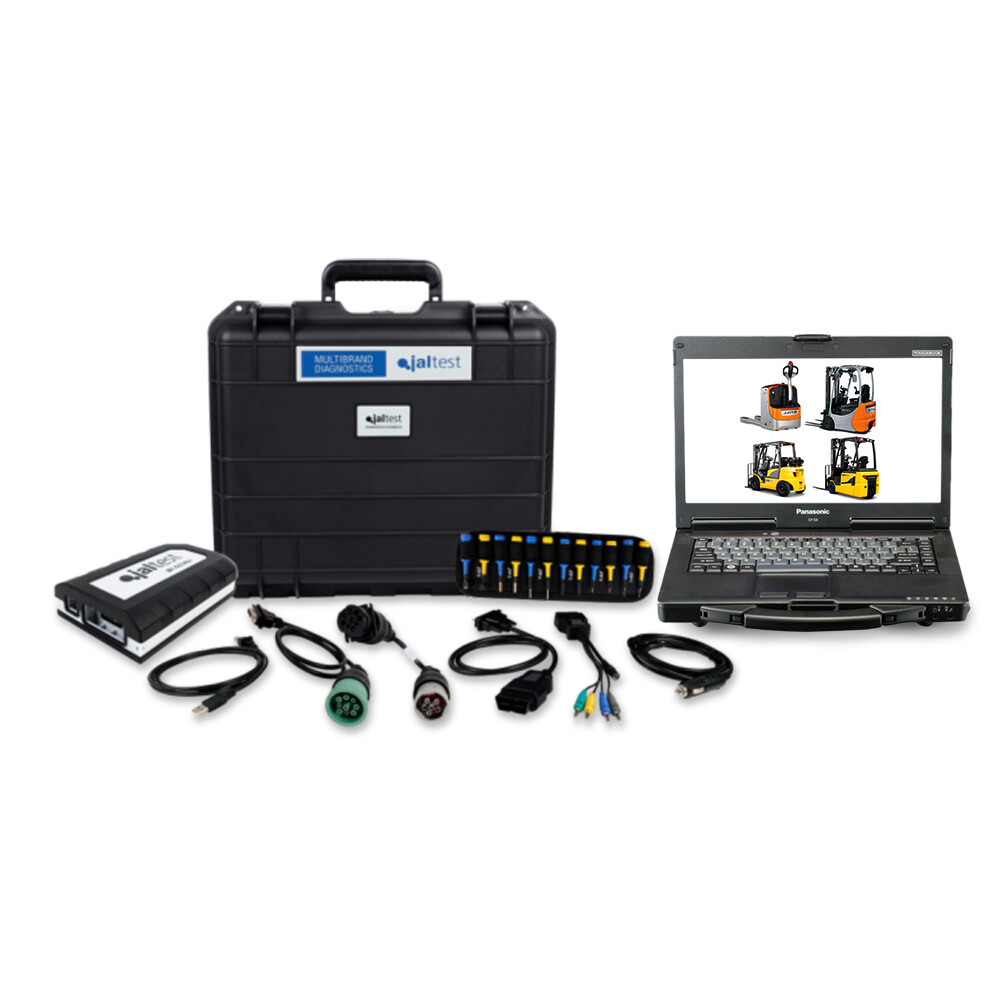 Forklift Repair Diagnostic Jaltest Dealer Toughbook Laptop Kit