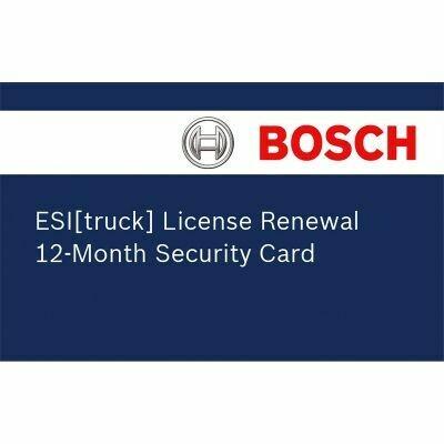 Bosch ESI [Truck] License Renewal