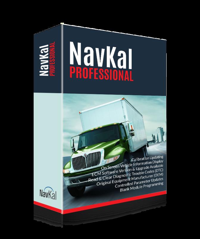 International NavKal ECM Engine Programming Pro Edition