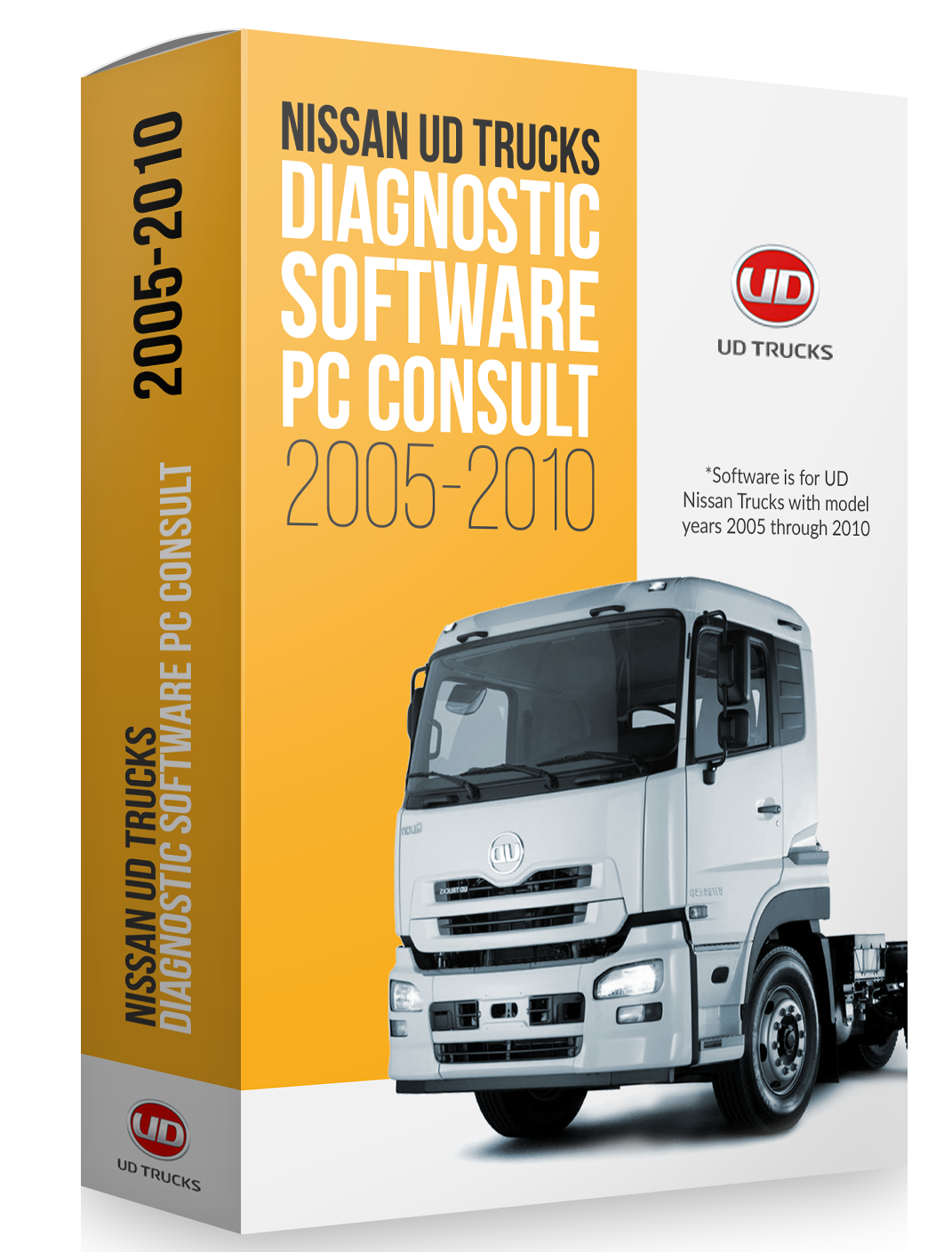Nissan UD Trucks Diagnostic Software PC Consult (2005-2010)