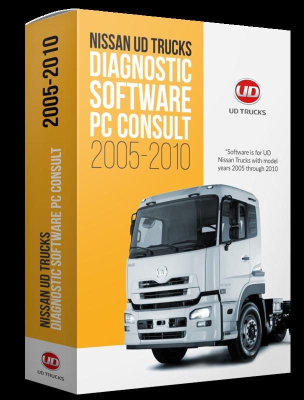 Nissan UD Trucks Diagnostic Software PC Consult (2005-2010)