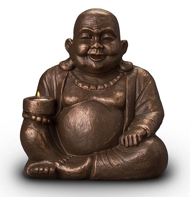 Urn Boeddha waxinelicht