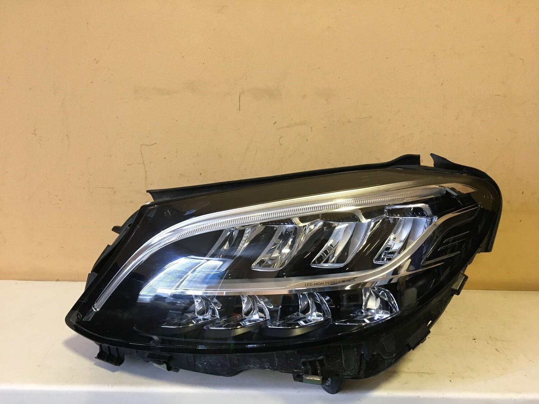 Фара левая LED Mercedes C-Class W205