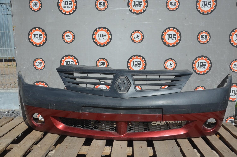 Бампер передний Renault Logan Фаза 1