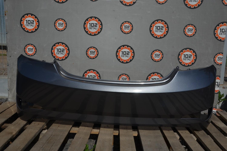 Бампер задний Hyundai Solaris Рестайлинг